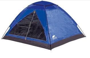 Палатка Alaska Моби 3, цвет синий/голубой