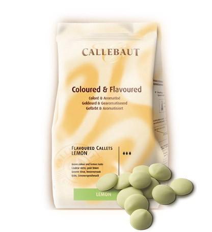Лимонный шоколад Callebaut в монетах