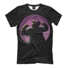 Мужская футболка Бегемот