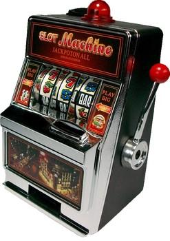 Копилка-игровой автомат «Однорукий бандит»