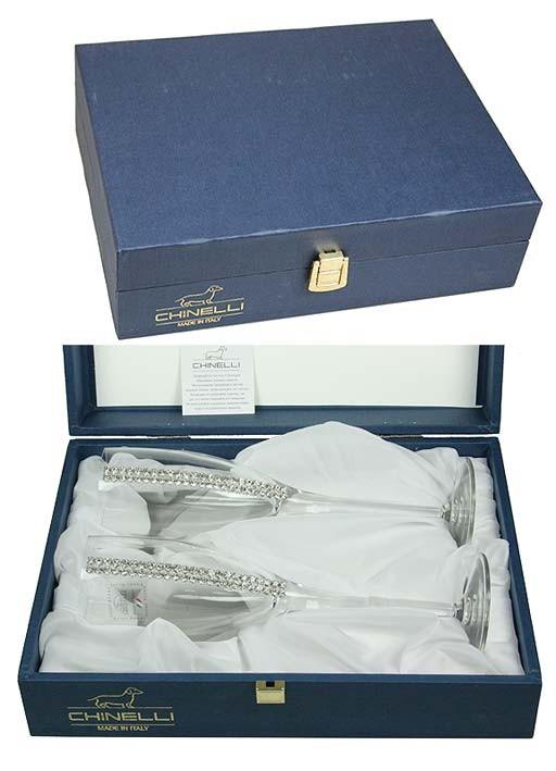 Подарочный набор бокалов для шампанского Regina на 2 персоны