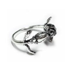 Кольцо Имя розы (серебро, 925 проба)