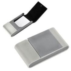 Белая визитница Aluminium