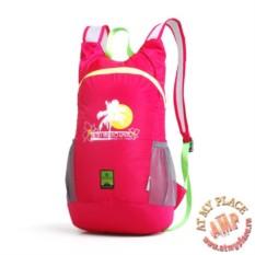 Малиновый рюкзак-трансформер