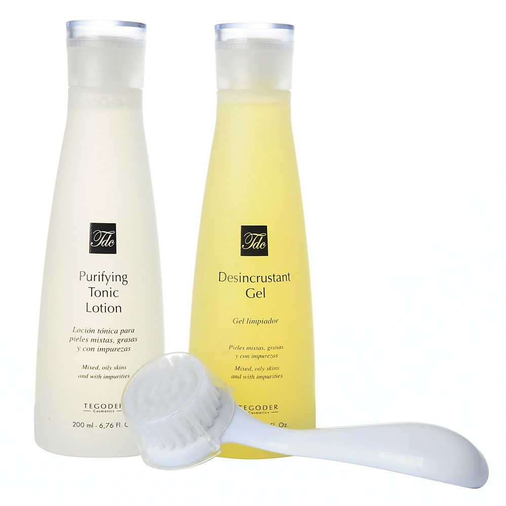 Набор средств для очищения кожи лица Tegoder Cleaning Line