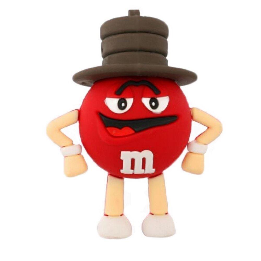 Флешка M&M`s (красный)