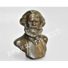 Бронзовый бюст Карла Маркса