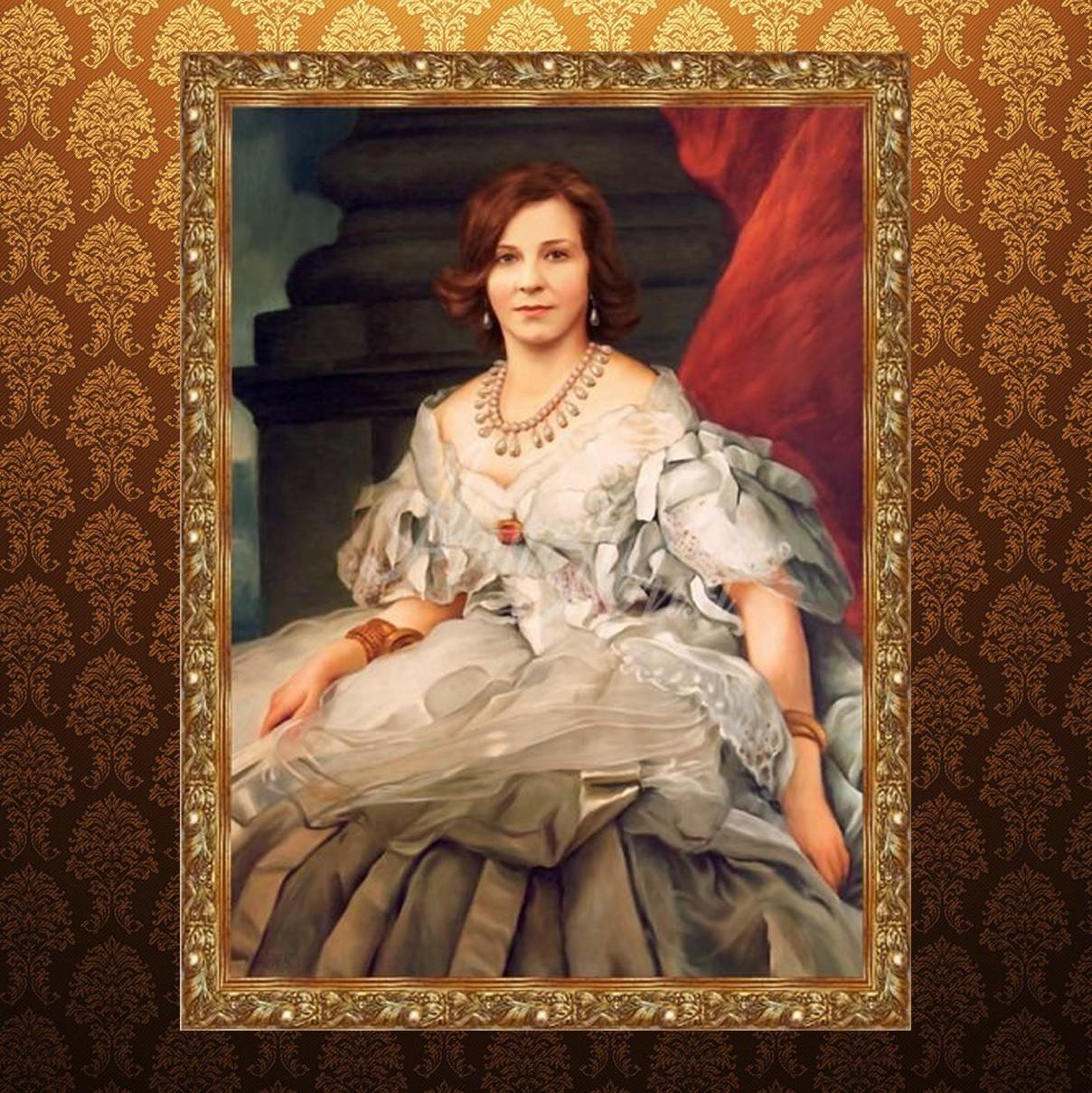 Исторический портрет женщины