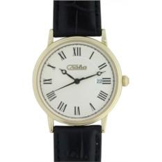 Мужские наручные часы Слава С051/1005 с золотым корпусом