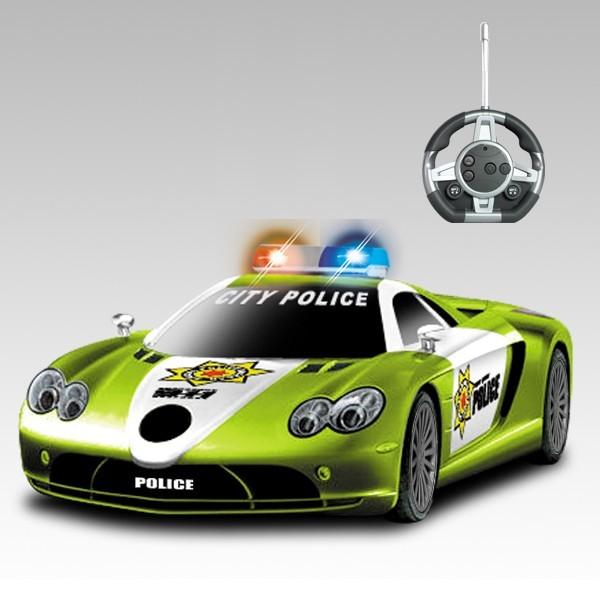 Радиоуправляемый конструктор-машинка Mclaren Полиция