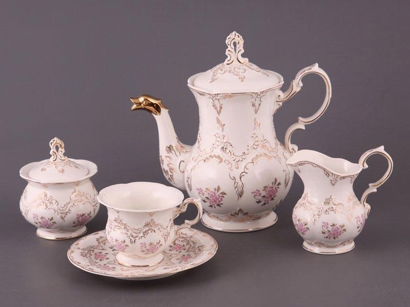 Чайный сервиз на 6 персон 15 пр. грация