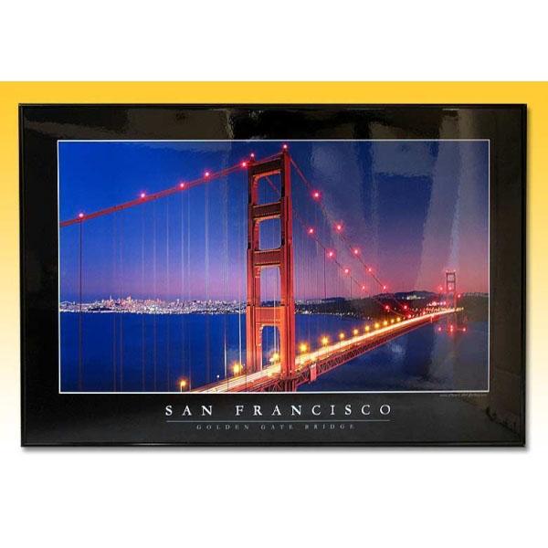 Постер «Золотые ворота в Сан-франциско»