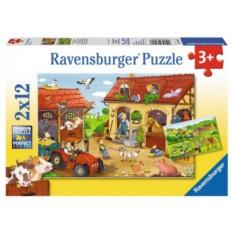 Пазл Работа на ферме от Ravensburger