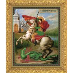 Набор для вышивания бисером Святой Георгий Победоносец