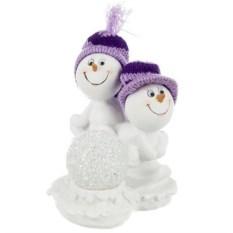 Фигурка с led-подсветкой Снеговички