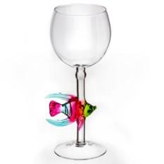 Бокал для вина Радужная рыбка