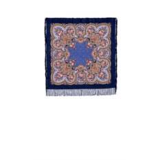 Павлопосадский платок с рисунком Душевный разговор