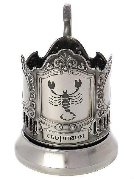 Подстаканник с гравировкой Знак Зодиака - Скорпион