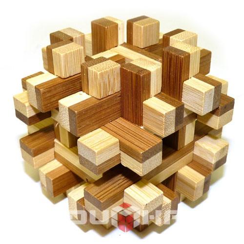 Головоломка из бамбука Double Frame