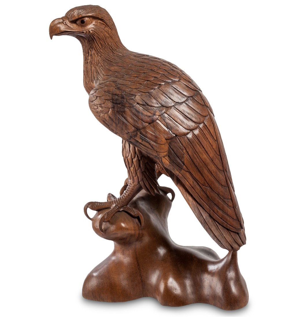Статуэтка из суарового дерева Орел