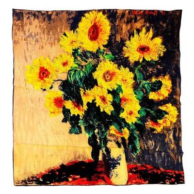 Платок «Подсолнухи» Ван Гог