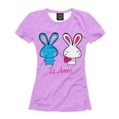 Женская футболка Тe Аmo