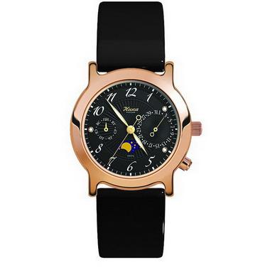 Женские золотые часы «Ника» — «Лунник»