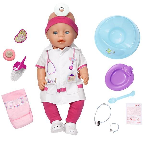 Кукла Baby born  Доктор