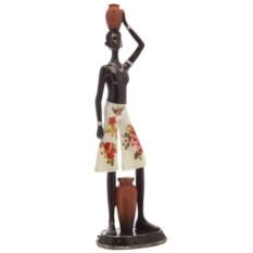 Декоративная фигурка Африканка высотой 43,2 см