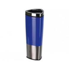 Синяя кружка с термоизоляцией на 400 мл