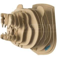 3D-конструктор Голова дикого медведя