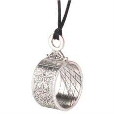 Серебряная подвеска Солнечные часы Altura