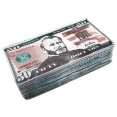 Салфетки Пачка 50 $