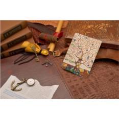 Кожаная обложка для документов Климт