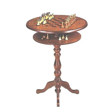 Комплект шахматы со столиком
