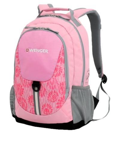 Розово-серый рюкзак Wenger