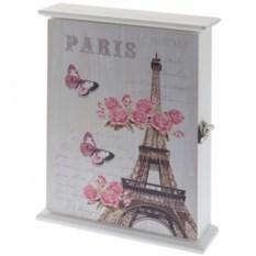Настенная ключница Весна в Париже