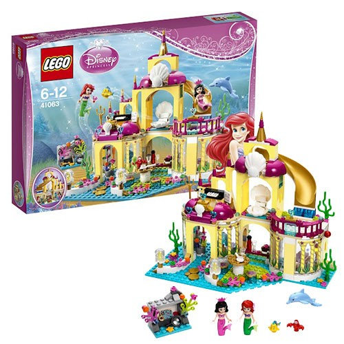 Конструктор Lego Disney Princesses Подводный дворец Ариэль