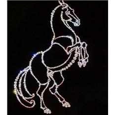 Картина из кристаллов «Конь»