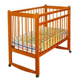 Детская кроватка «Митенька-1» (с ящиком)