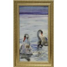 Картина с кристаллами Сваровски Волна любви