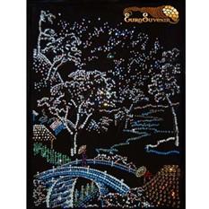 Картина Swarovski Японский садик