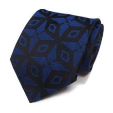 Красивый галстук с синим узором Versace