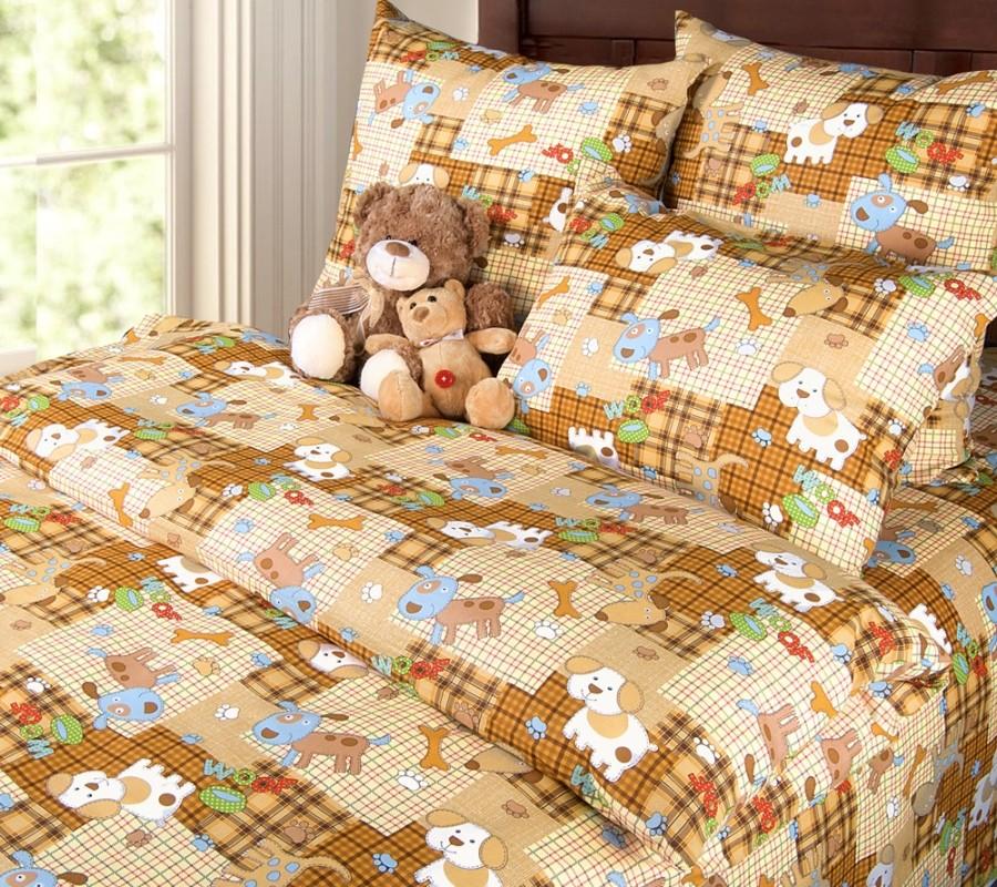 Комплект постельного белья Тузик (ясельный)