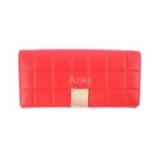 Красный кошелек Chanel