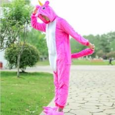 Кигуруми Радужный ярко-розовый пони