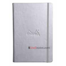 Хаписная книжка Rhodia Webnotebook Silver Medium A5