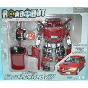 Машина-трансформер MITSUBISHI EVOLUTION VII