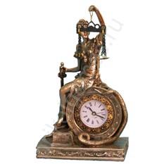 Статуэтка Фемида с часами 12х21 см.