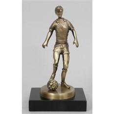 Бронзовая статуэтка Футболист